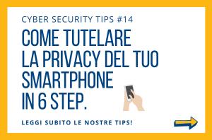 Pillole di Cyber Security TIPS #14
