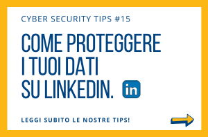 Pillole di Cyber Security TIPS #15