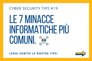 Pillole di Cyber Security TIPS #19