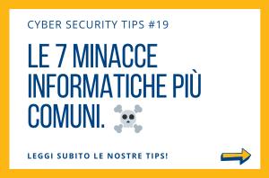 Pillole di Cyber Security TIPS #19