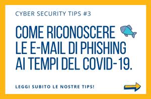 Pillole di Cyber Security TIPS #3