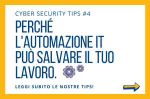 Pillole di Cyber Security TIPS #4