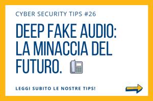 Pillole di Cyber Security TIPS #26