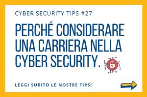 Pillole di Cyber Security TIPS #27
