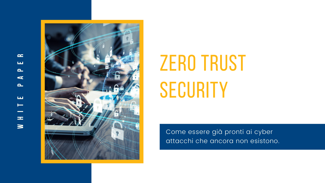 Cover White Paper Zero Trust Security