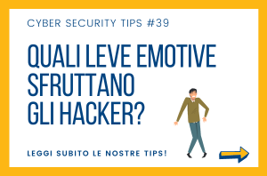 Pillole di Cyber Security TIPS #39